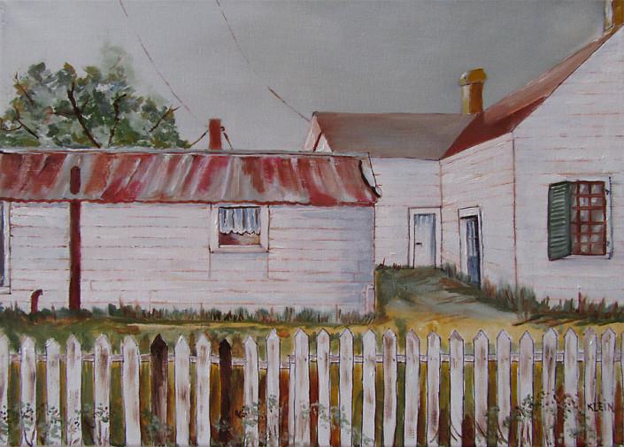 Schwertner House / oil on canvas 12 x 16 / $250.00