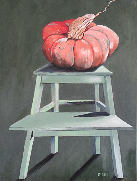 Ikea and the Farm / oil on canvas 18 x 24 / $450.00