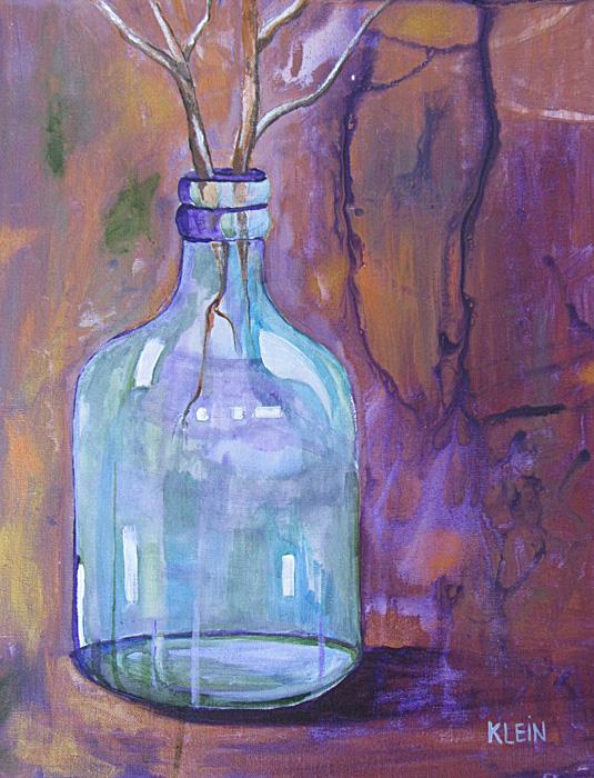 Vase / acrylic 16 x 20 / $250.00